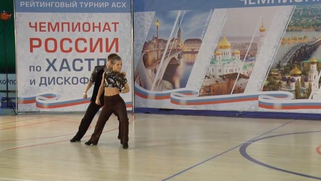 Чемпионат России 2016, Артем Голубев - Светлана Галкина, fast