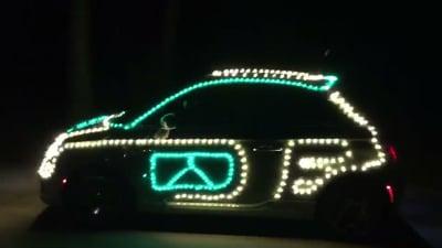 Crazy Christmas Car