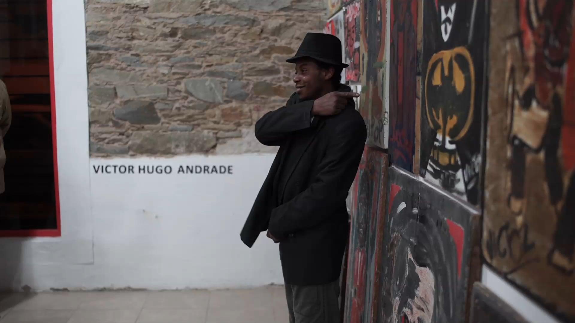 Inauguración muestra Victor Hugo Andrade - Casa de la Cultura Afro Uruguaya