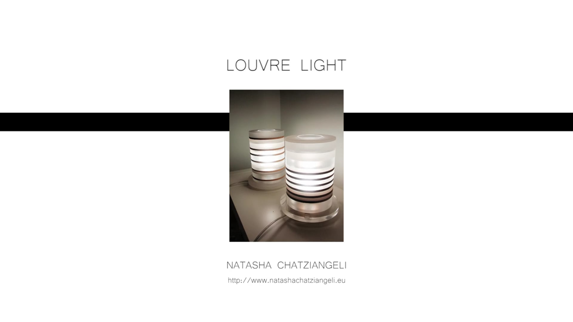 Louvre Light. presentation