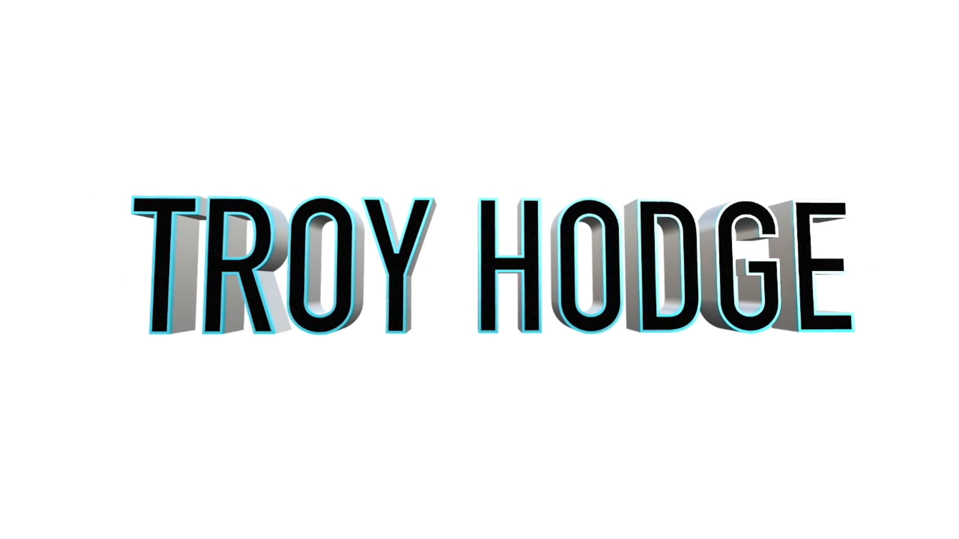 Troy Hodge Demo Reel 2016