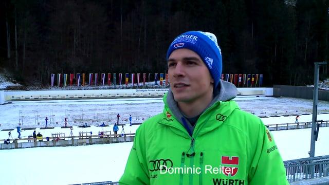 Dominic Reiter hat eine ganz besondere Beziehung zur Chiemgau Arena (2017)