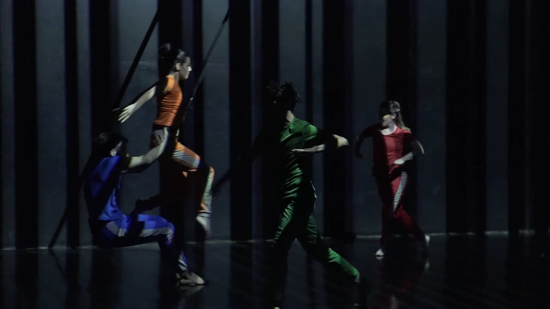 Trailer MOVI Aerial dance, video animation
