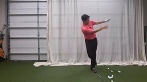 Step And Throw The Arms Forward - Proper Driver Tilt