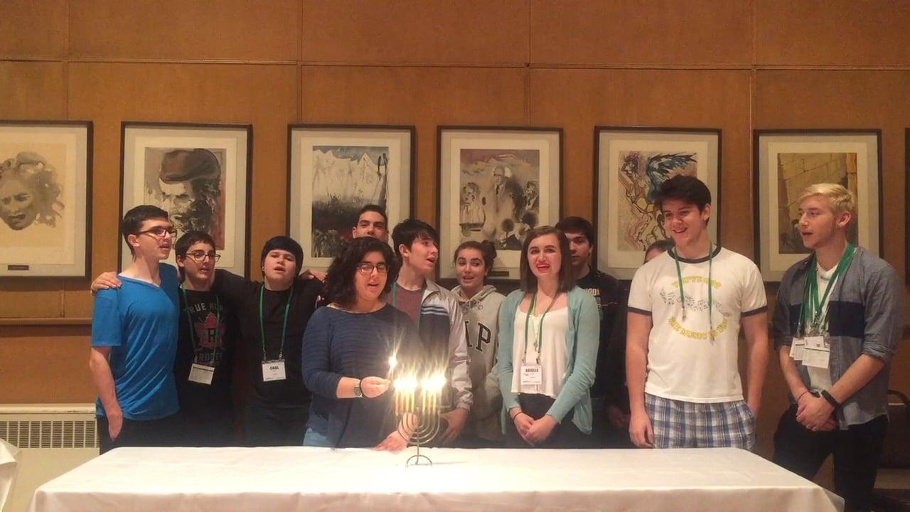 NFTY NEL Hanukkah Night Eight