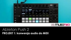 PROJEKT 1 konwersja audio do MIDI