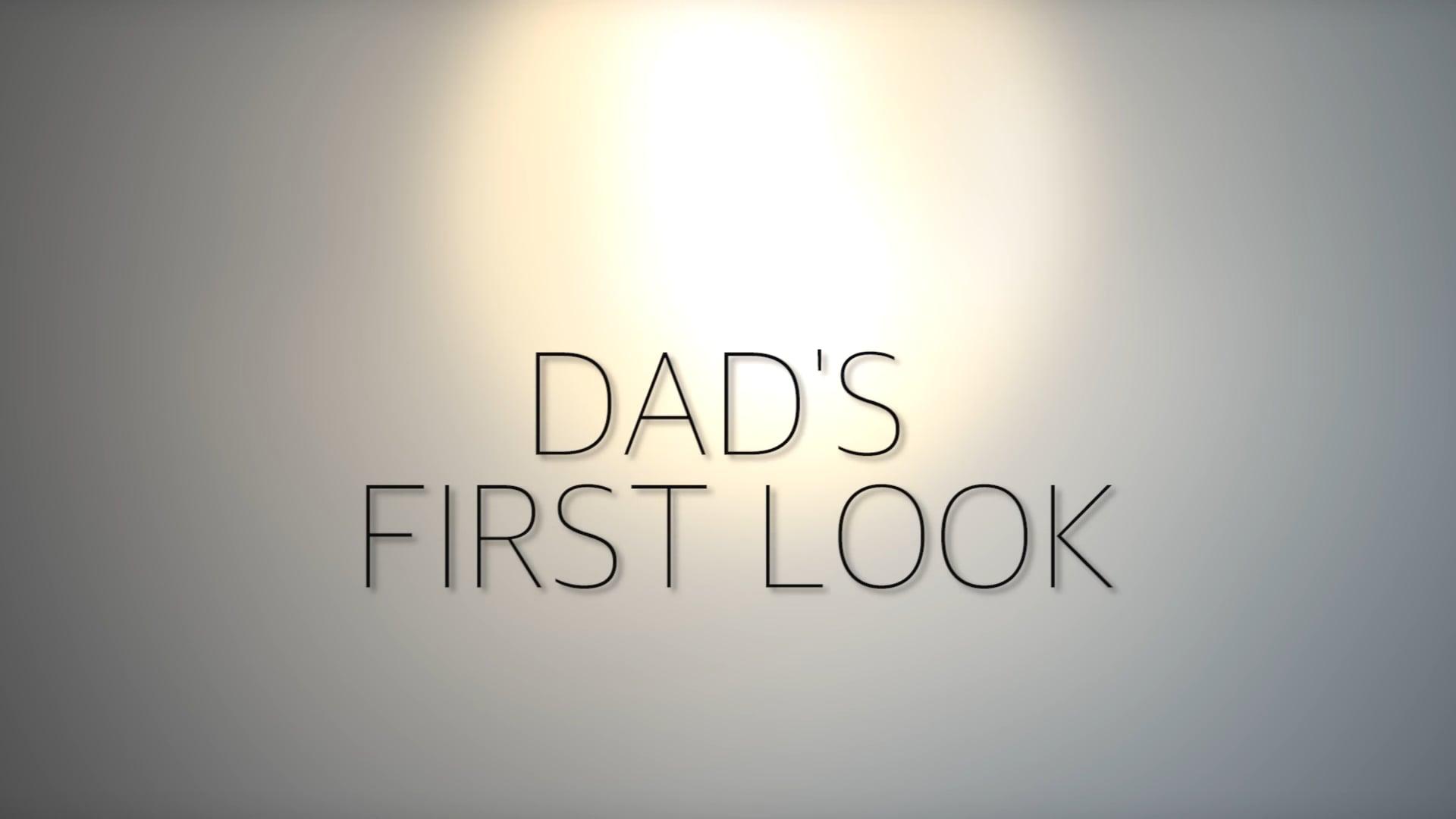 Dad's First Look - Doyle Wedding