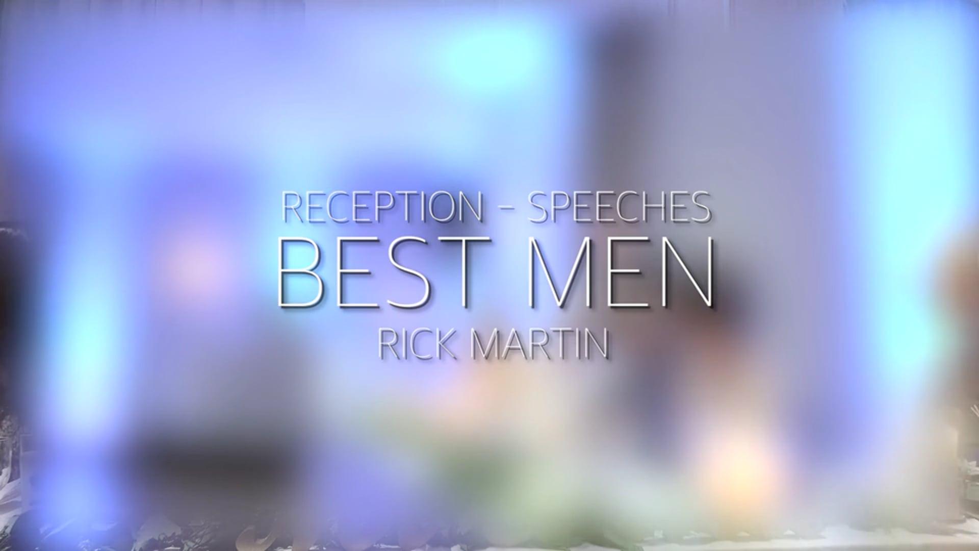 Doyle Wedding Reception - Bestman Speech 2 - Rick