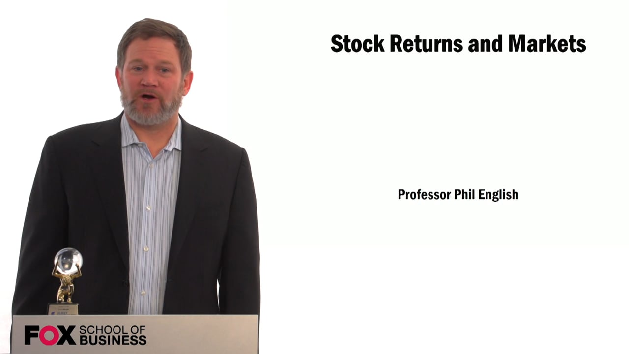 59323Stock Returns and Markets