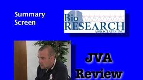 JVA Review – Summary Screen