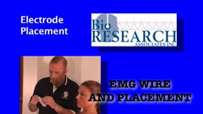 EMG Wire and Placement – Electrode Placement