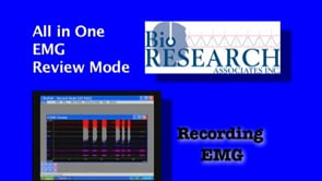 Recording EMG – All in One Review Mode