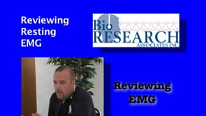 Reviewing EMG – Reviewing Resting EMG
