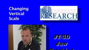 JT-3D Jaw Tracking – Changing Verical Scale