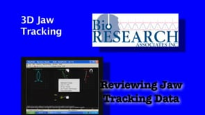Reviewing Jaw Tracking Data – 3D Jaw Tracking