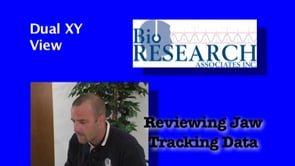 Reviewing Jaw Tracking Data – Dual XY View