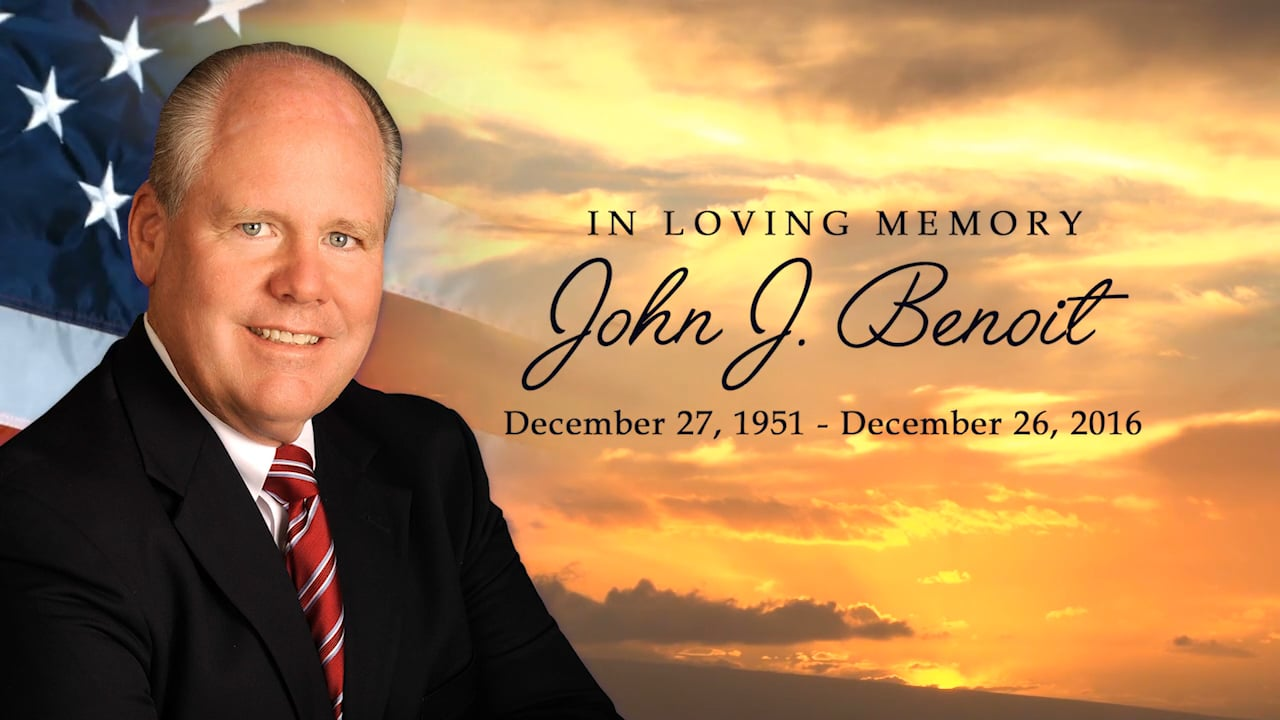 John J. Benoit Tribute  ~ State of the County Highlights 2009 - 2016