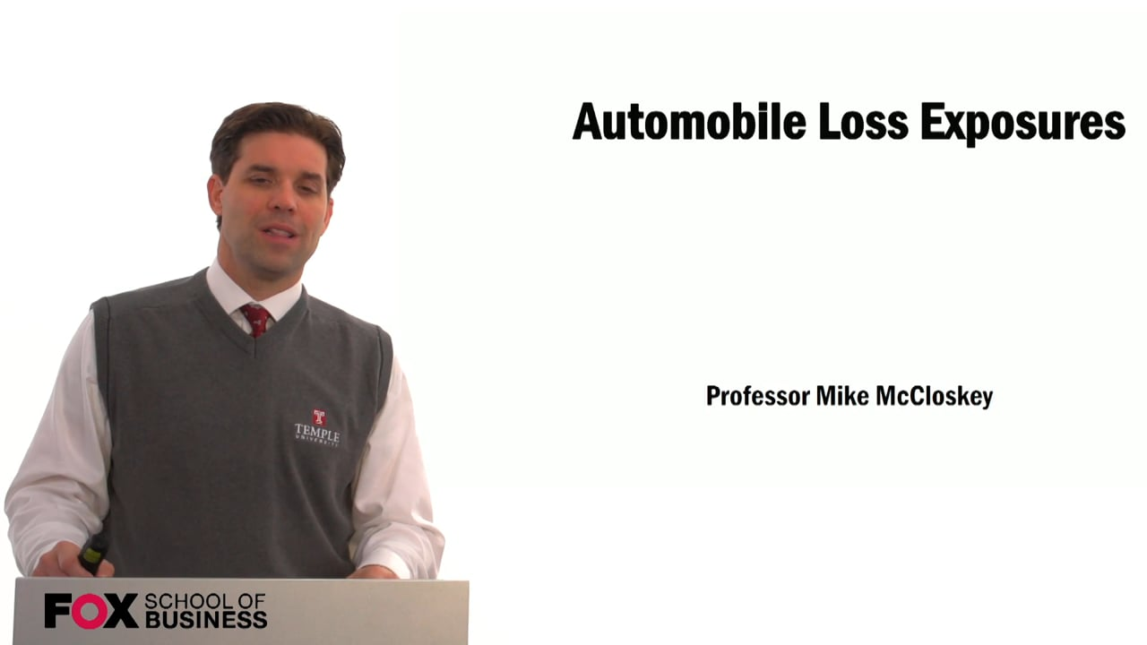 59342Automobile Loss Exposures