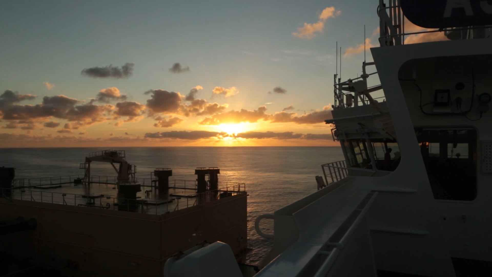 Chevron-Day in Life of a Ship Captain