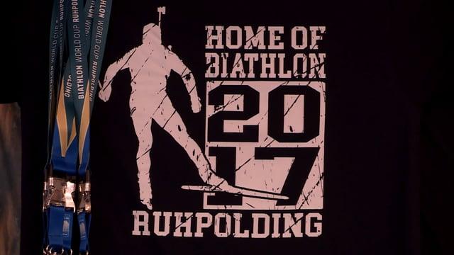 Fanartikel für den Biathlon Weltcup 2017
