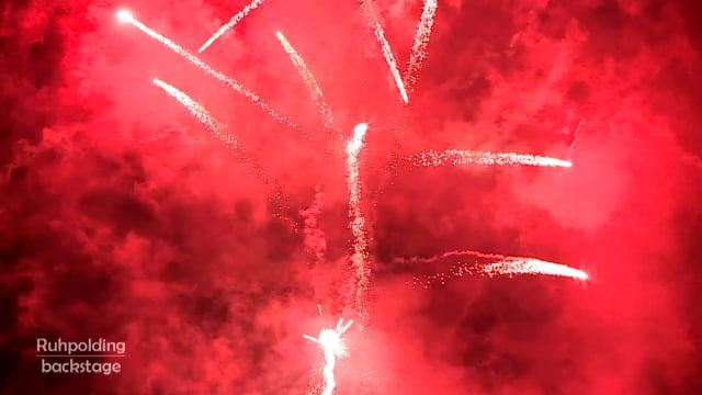 Das Feuerwerk zur Eröffnungsfeier 2017
