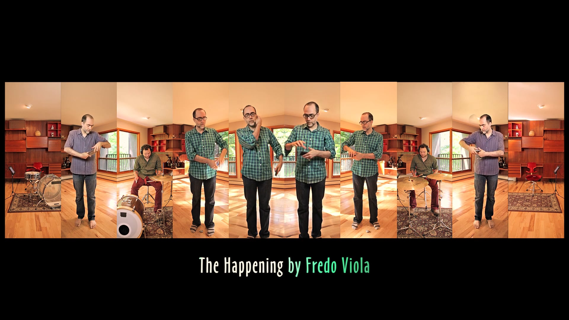 Fredo Viola - The Happening (live cluster video)