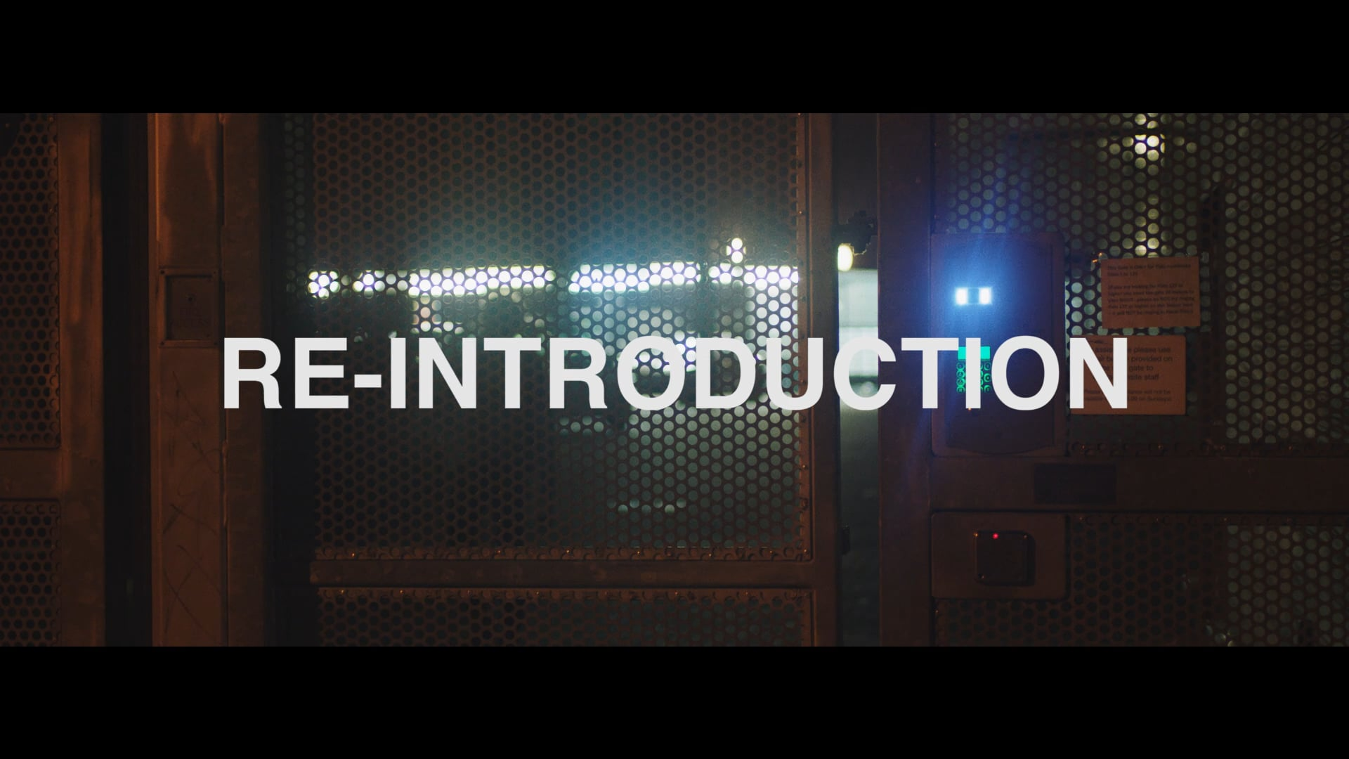 RE-INTRODUCTION