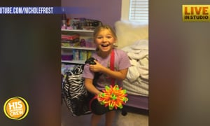 I Think This Girl Loved Her Surprise Cat