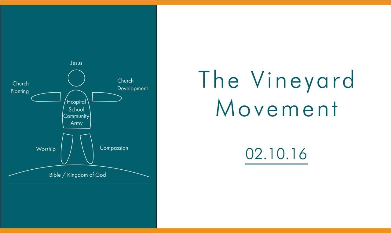 The Vineyard Movement