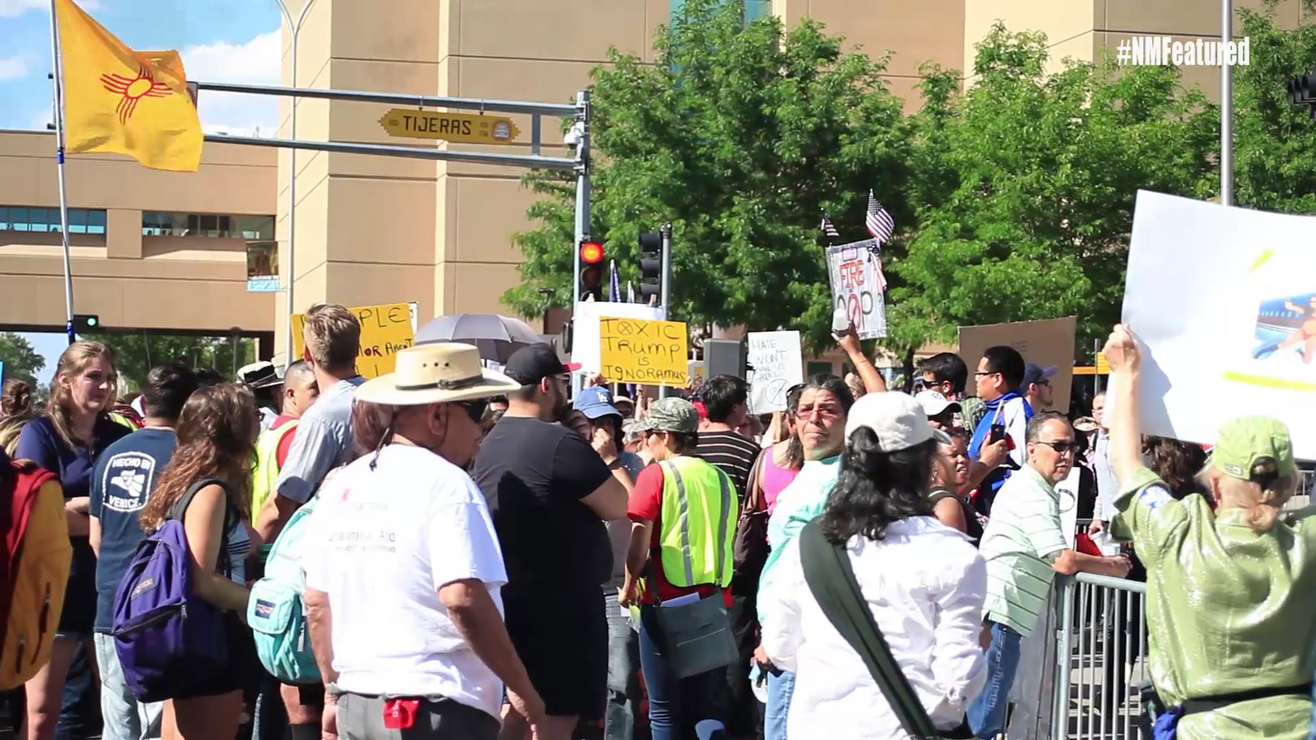 New Mexico Featured Trump Rally