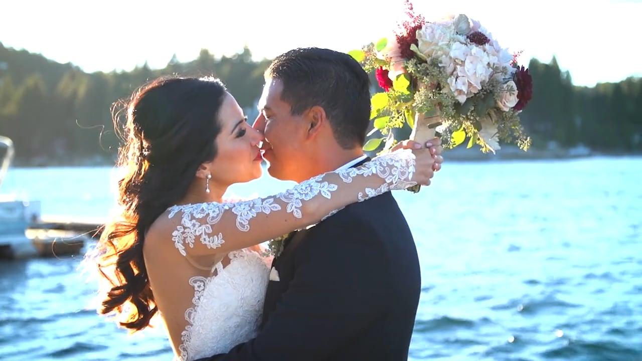 Lake Arrowhead Resort Wedding Video for Vanessa and Paul