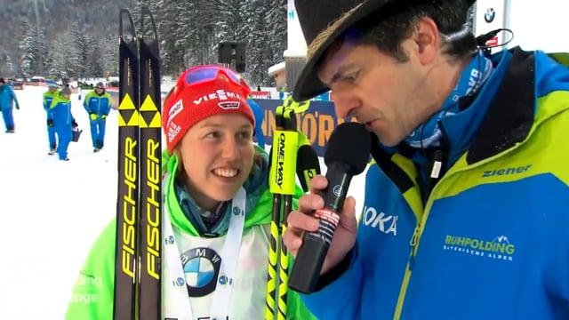 Interview mit Laura Dahlmeier & Kaisa Makarainen (2017)