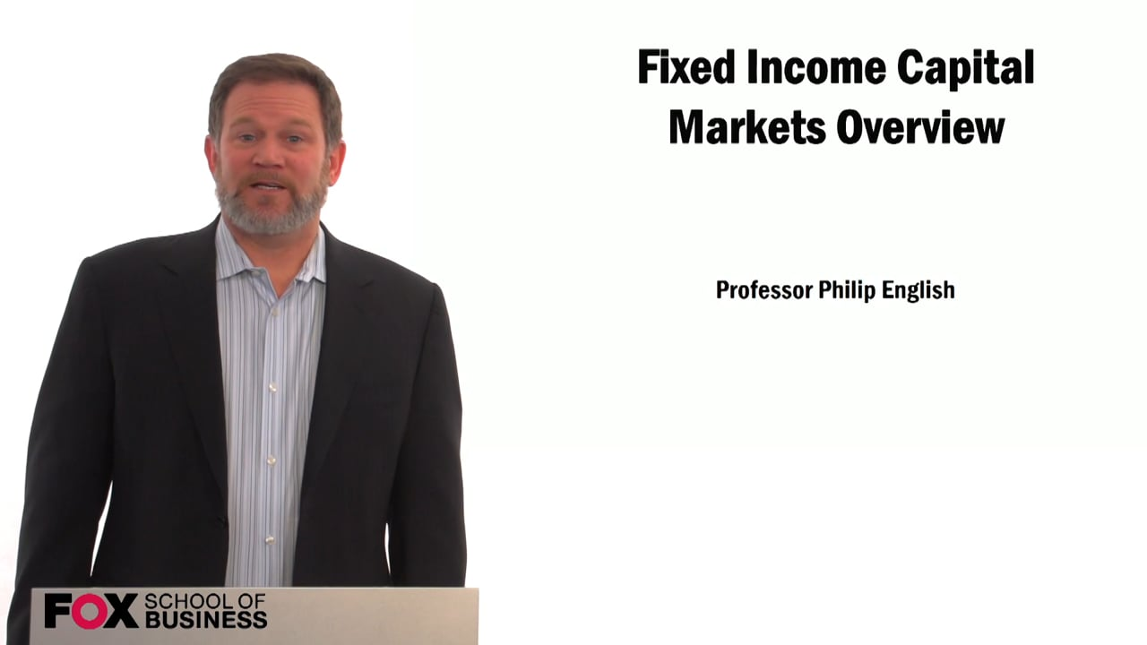 59353Fixed Income: Capital Markets Overview