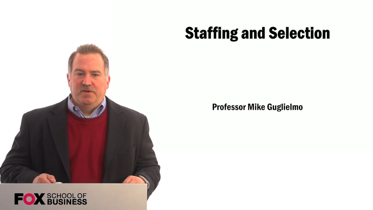 59381Staffing and Selection: Harry Griendling Interview