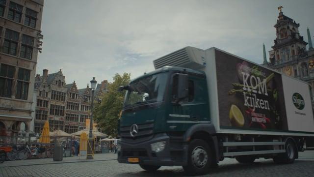 Vrachtwagen breakdown  -  Sligro