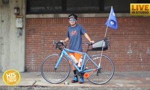 SC Boy Biking for Safe Water