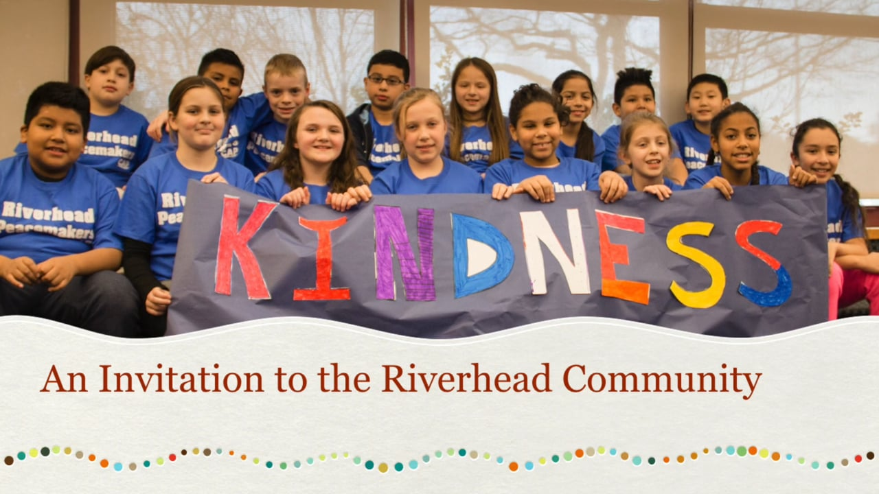 #RiverheadKindness: The Great Kindness Challenge 2017