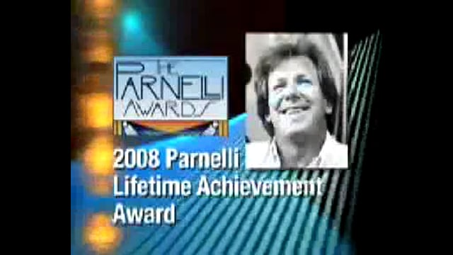 Dennis Shehan - 2008 Parnelli Lifetime Achievement Award