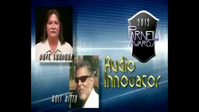 Dave Shadoan & Ross Ritto - 2012 Parnelli Innovator Award