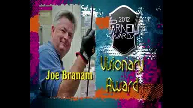 Joe Branam - 2012 Parnelli Visionary Award