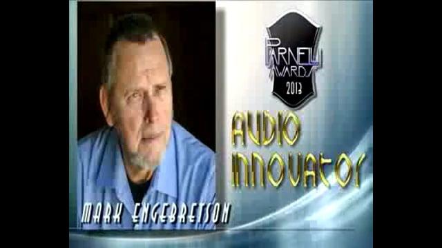 Mark Engebreston - 2013 Parnelli Audio Innovator Award