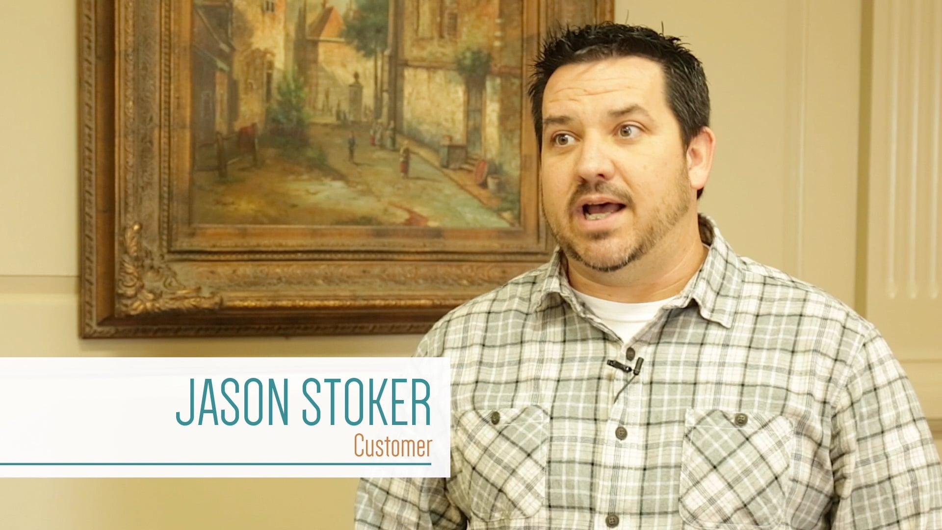Meet Starkville Bank of Commerce customer Jason Stoker!