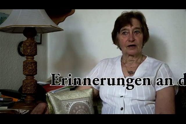 Jutta Kraeusel spricht über den Volksaufstand am 17. Juni 1953