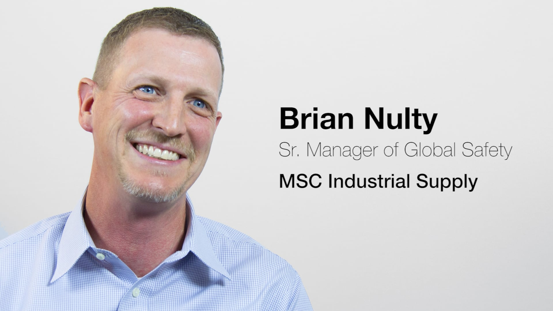 MSC Industrial Supply | Brian Nulty