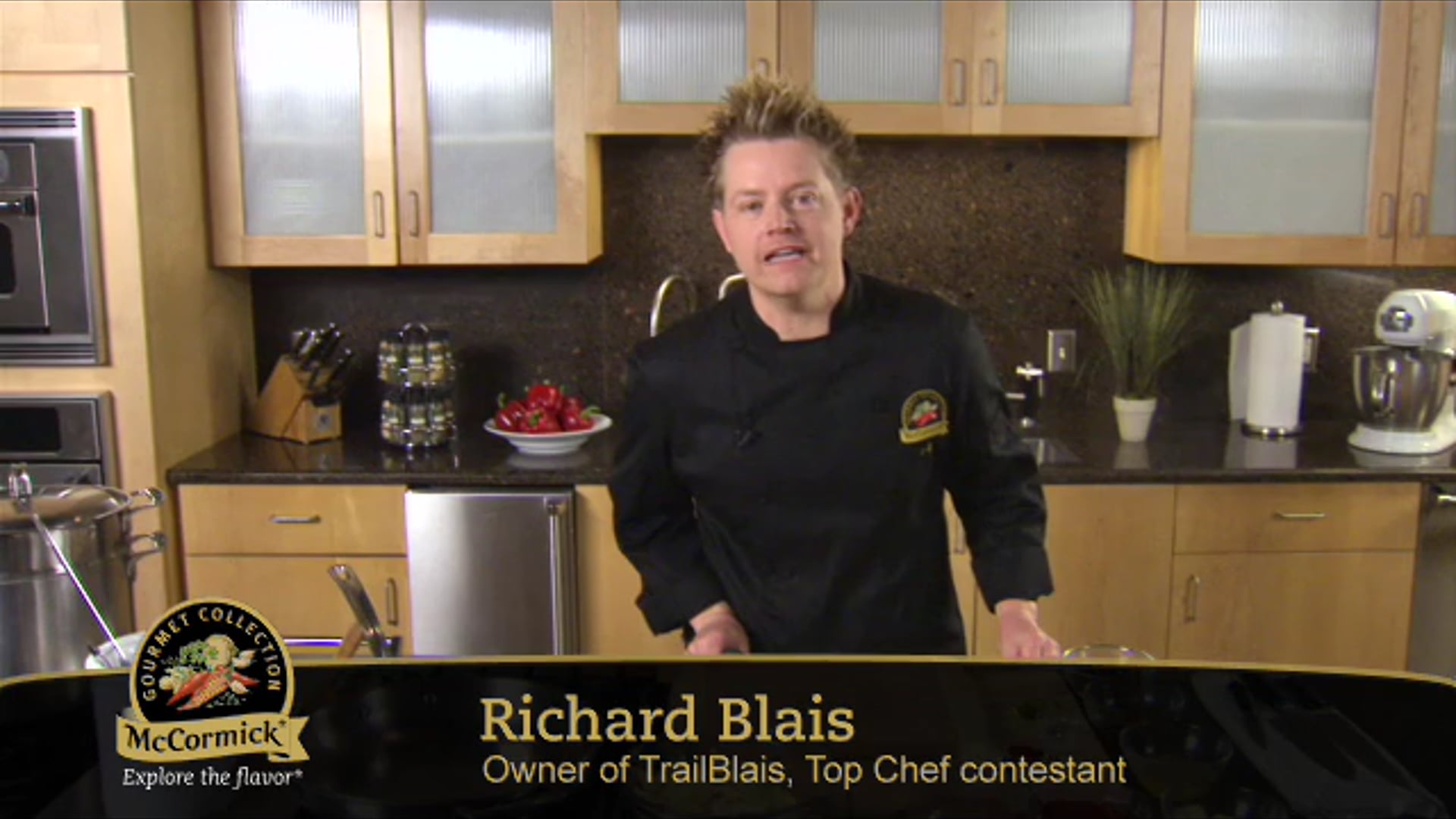 McCormick: Richard Blais Pasta Recipe (2009) Producer, director, editor Jose A. Acosta for Studiocom.