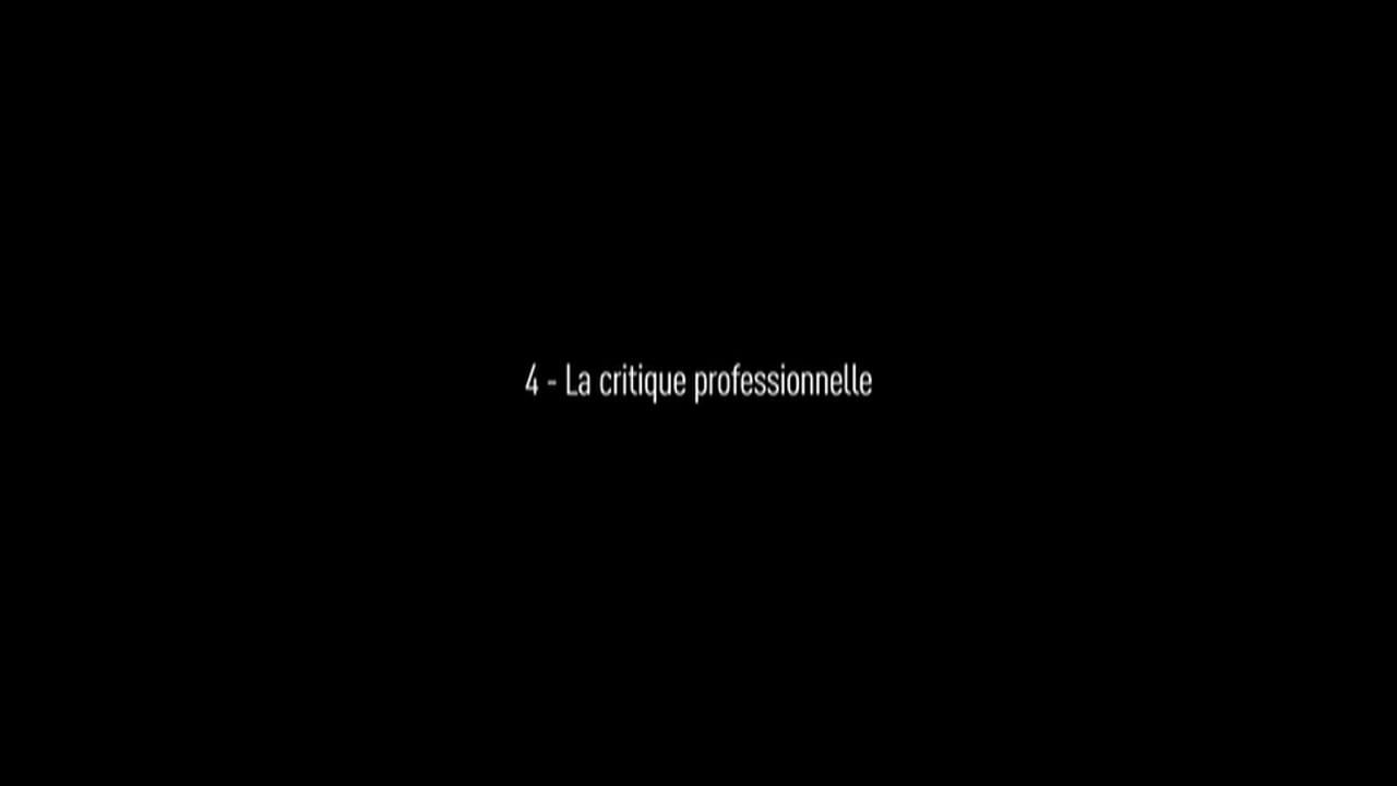 Qu'est-ce qu'un bon film ? Partie 4/6 : La critique professionnelle