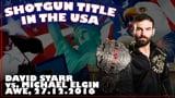 Shotgun Title in the USA: David Starr vs. Michael Elgin