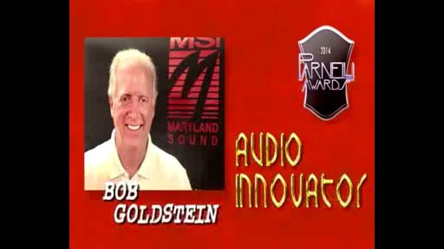 Bob Goldstein - 2014 Parnelli Audio Innovator Award