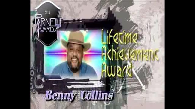 Benny Collins - 2014 Parnelli Lifetime Achievement Award