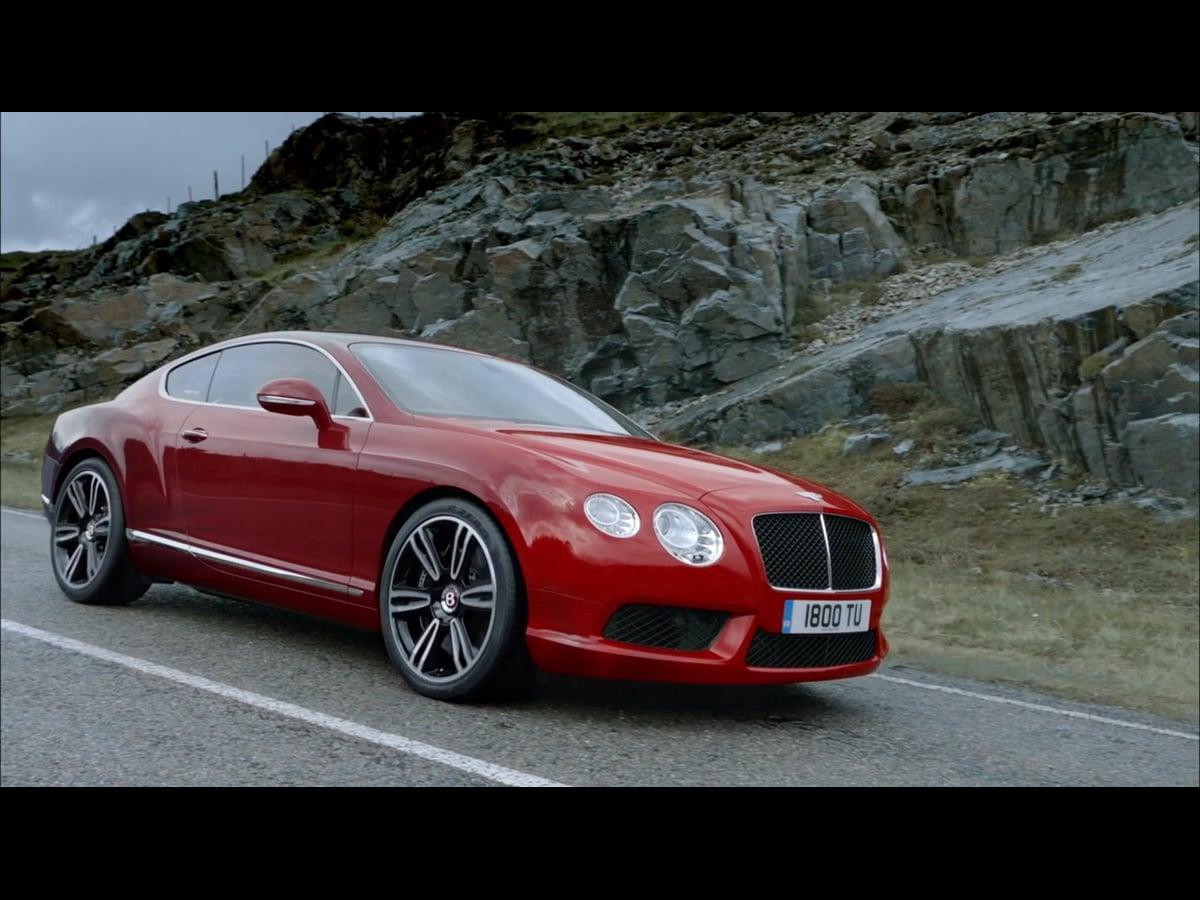 Bentley Continental GT V8 - Launch Film